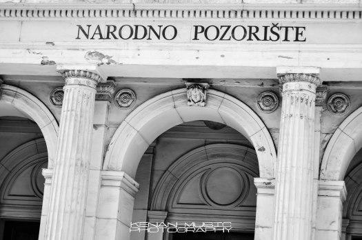 PHOTO BLOG: National Theatre Sarajevo